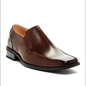 Steve Madden Kevlar Loafers in Brown Leat